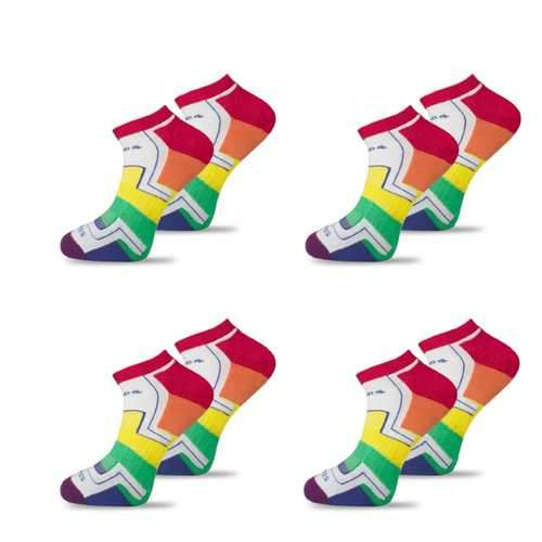 4x Pack Bundle - LGBT - Homeless Sport Ankle Sock-Stand4 Socks-MAMOQ