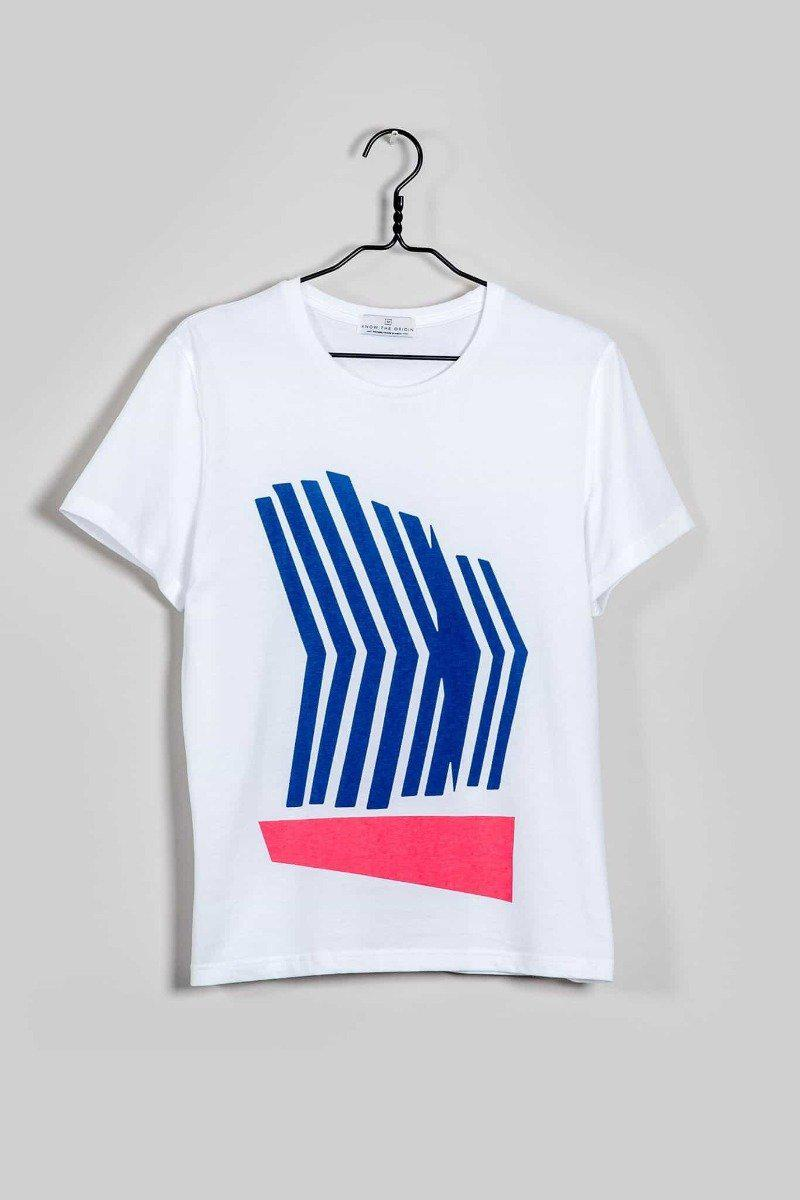Abstract Five T-Shirt-Know The Origin-MAMOQ