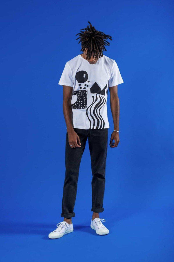 Abstract One T-Shirt-Know The Origin-MAMOQ