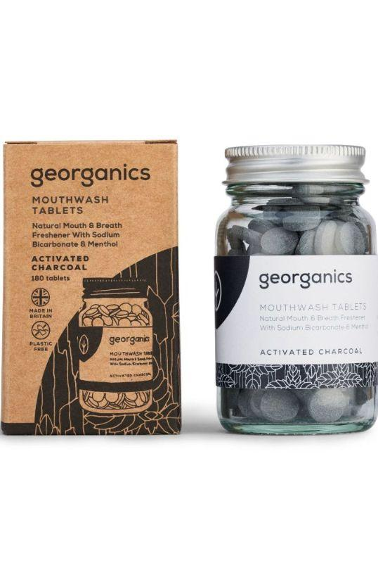 Activated Charcoal Mouthwash Tablets-Georganics-MAMOQ