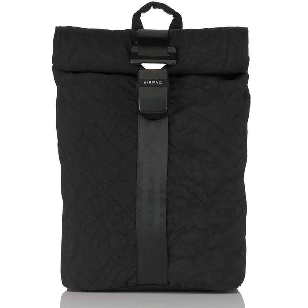 Airpaq Unicolor Black 2.0-Backpack-Airpaq-MAMOQ