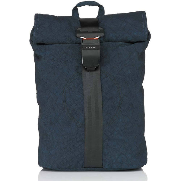 Airpaq Unicolor Blue 2.0-Backpack-Airpaq-MAMOQ