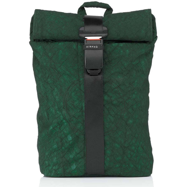 Airpaq Unicolor Green 2.0-Backpack-Airpaq-MAMOQ