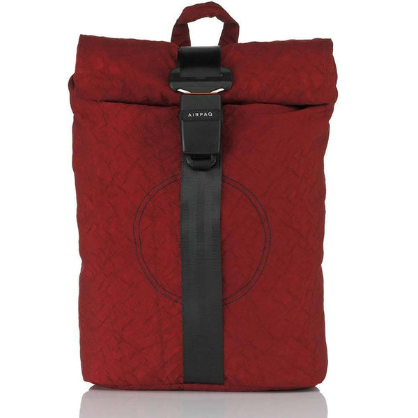 Airpaq Unicolor Red 2.0-Backpack-Airpaq-MAMOQ