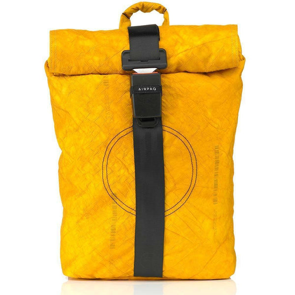 Airpaq Unicolor Yellow 2.0-Backpack-Airpaq-MAMOQ