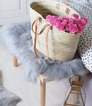 Aleah Monogram Natural Woven Basket Bag-Harfi-MAMOQ