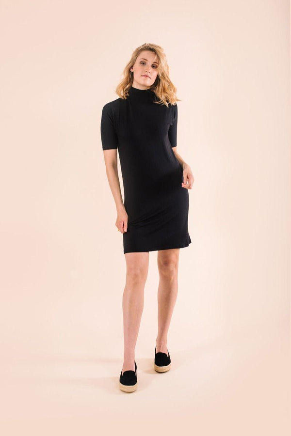 Almora Black Dress-Know The Origin-MAMOQ