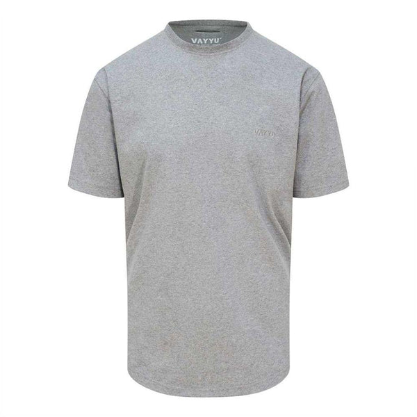 Alpine Grey - Organic Cotton T-Shirt-VAYYU-MAMOQ