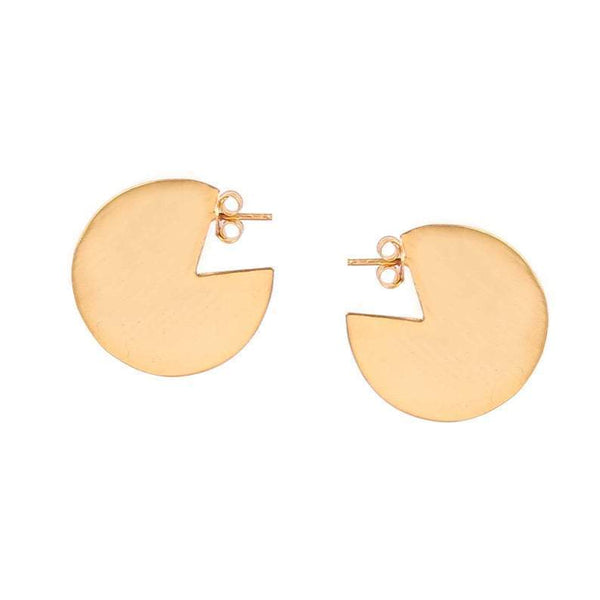 Anjali Gold Plated Dangle Earrings-jewellery-Harfi-MAMOQ