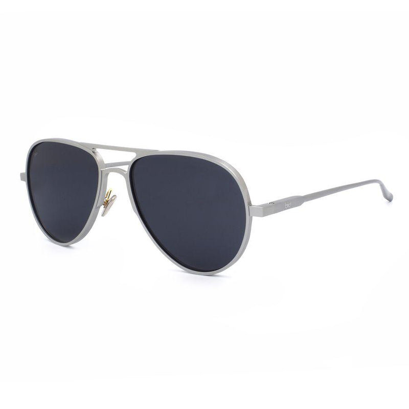 Apollo Small Aerospace Aluminium Aviator Sunglasses-Bird Sunglasses-MAMOQ