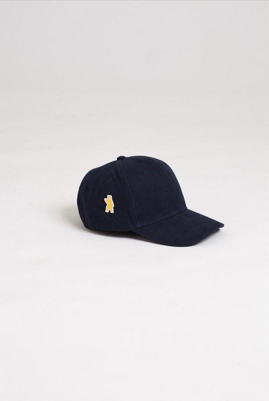 Ash Navy Brushed Cotton Cap-Hats & Caps-Absolutely Bear-MAMOQ