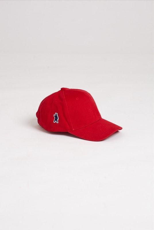 Ash Red Brushed Cotton Cap-Hats & Caps-Absolutely Bear-MAMOQ