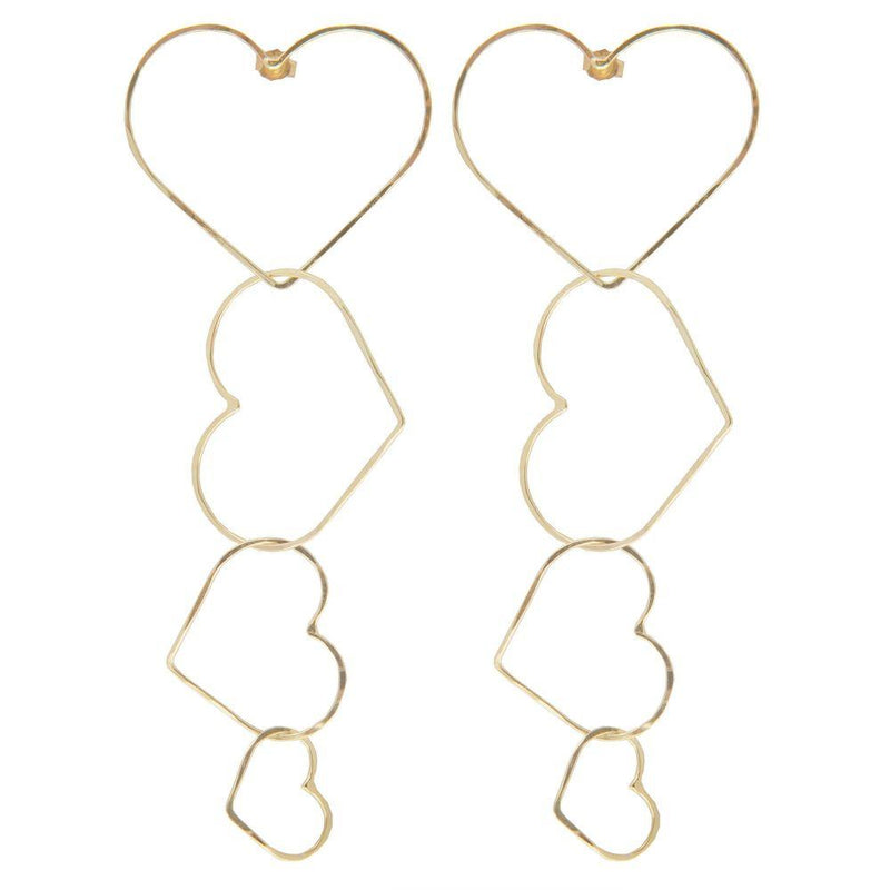 Atina Heart Earrings-SeeMe-MAMOQ