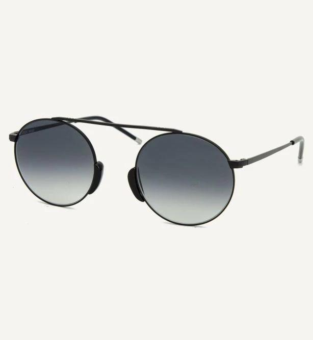 Bern Satin Anthracite Unisex Sunglasses-Dick Moby-MAMOQ