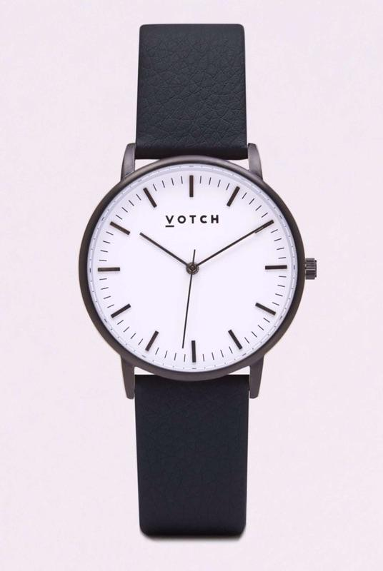 Black And White Face & Black Strap-Votch-MAMOQ