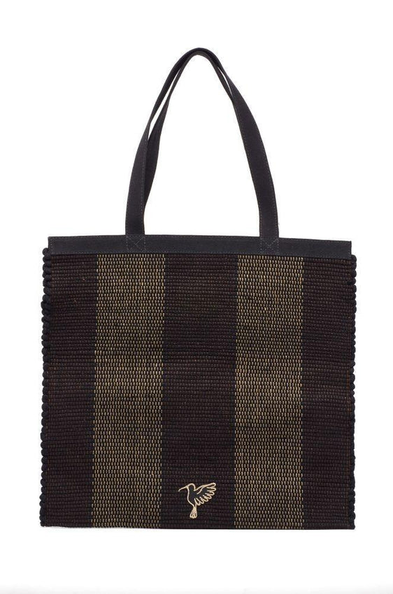 Black Cida Shopper Bag-Belo-MAMOQ