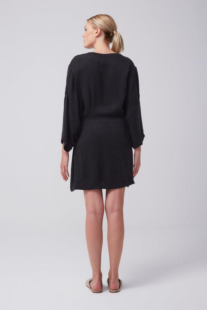 Black Edon Dress-Rakha-MAMOQ