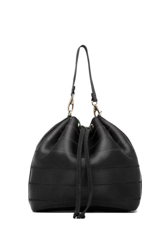 Black Ju Bucket Bag-Belo-MAMOQ