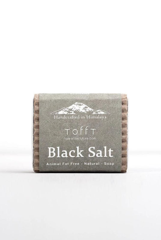 Black Salt Natural Cleansing Soap Bar-Tale Of The Future-MAMOQ
