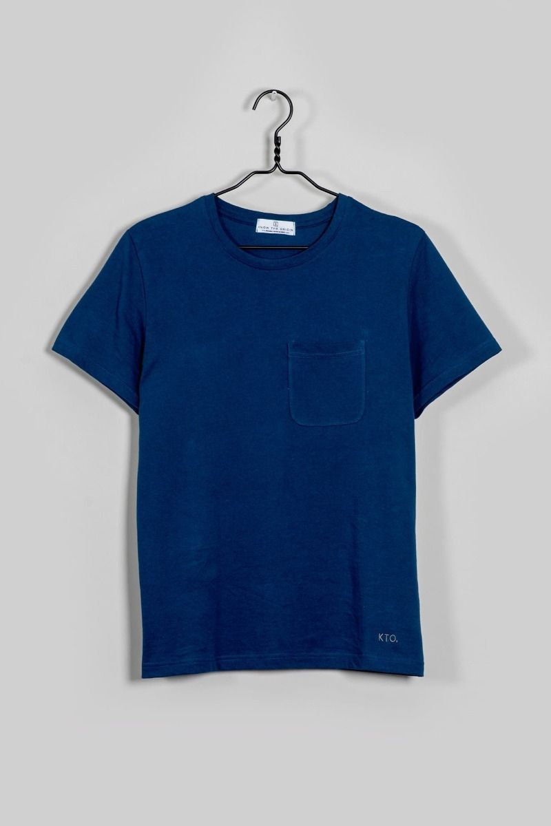 Blue Agra T-Shirt-Know The Origin-MAMOQ