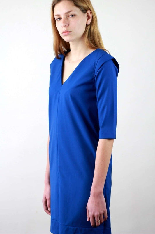 Blue Anaïs Dress-ATODE-MAMOQ