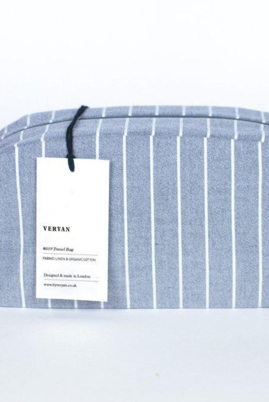 Blue Stripe Travel Bag-Veryan-MAMOQ