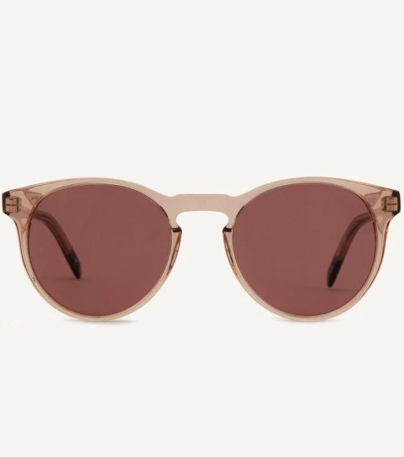 Brighton Pale Rose Unisex Sunglasses-Dick Moby-MAMOQ