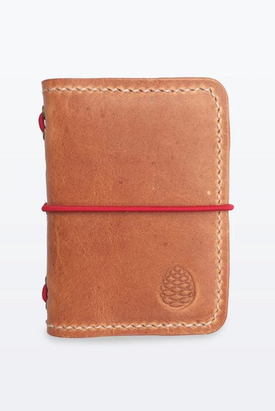 Brown Leather Card Holder Wallet-The Level Collective-MAMOQ