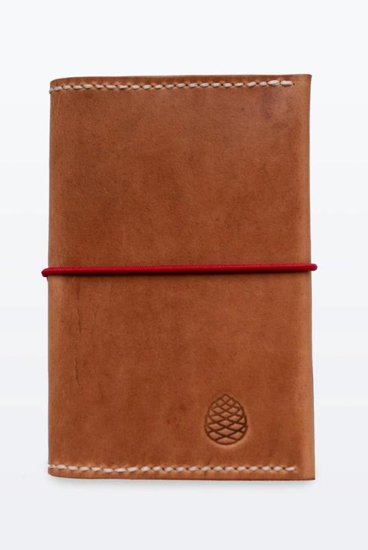 Brown Leather Passport Holder-The Level Collective-MAMOQ