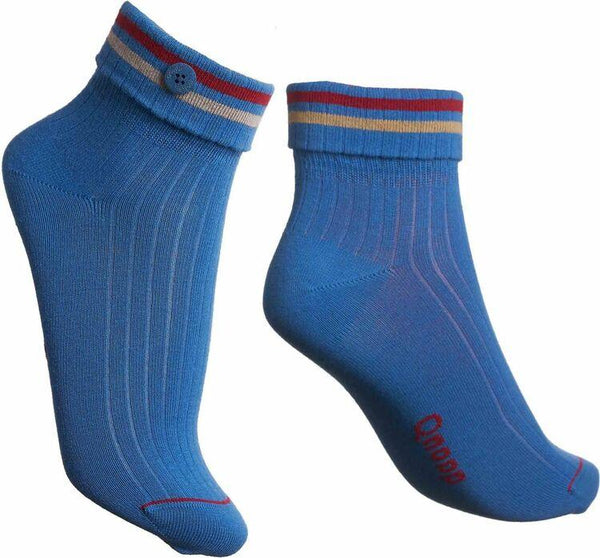 Cadence Blue Socks-Qnoop-MAMOQ