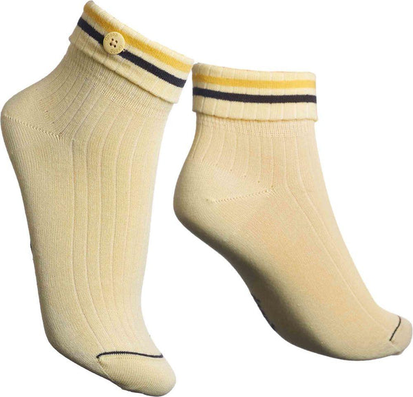 Cadence Yellow Socks-Qnoop-MAMOQ