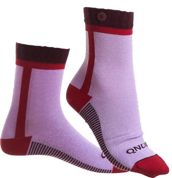 Calgary Soft Purple Bio-cotton Socks-Calgary-Qnoop-MAMOQ