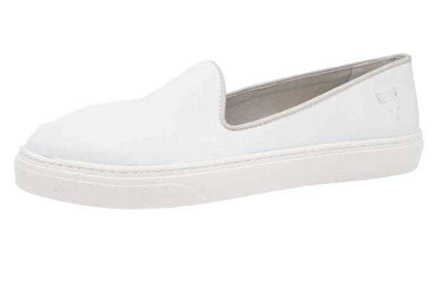 Cecil Slippers White-Independent Fox-MAMOQ