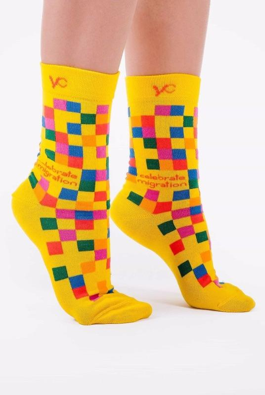 Celebrate Migration Socks-Younited Cultures-MAMOQ