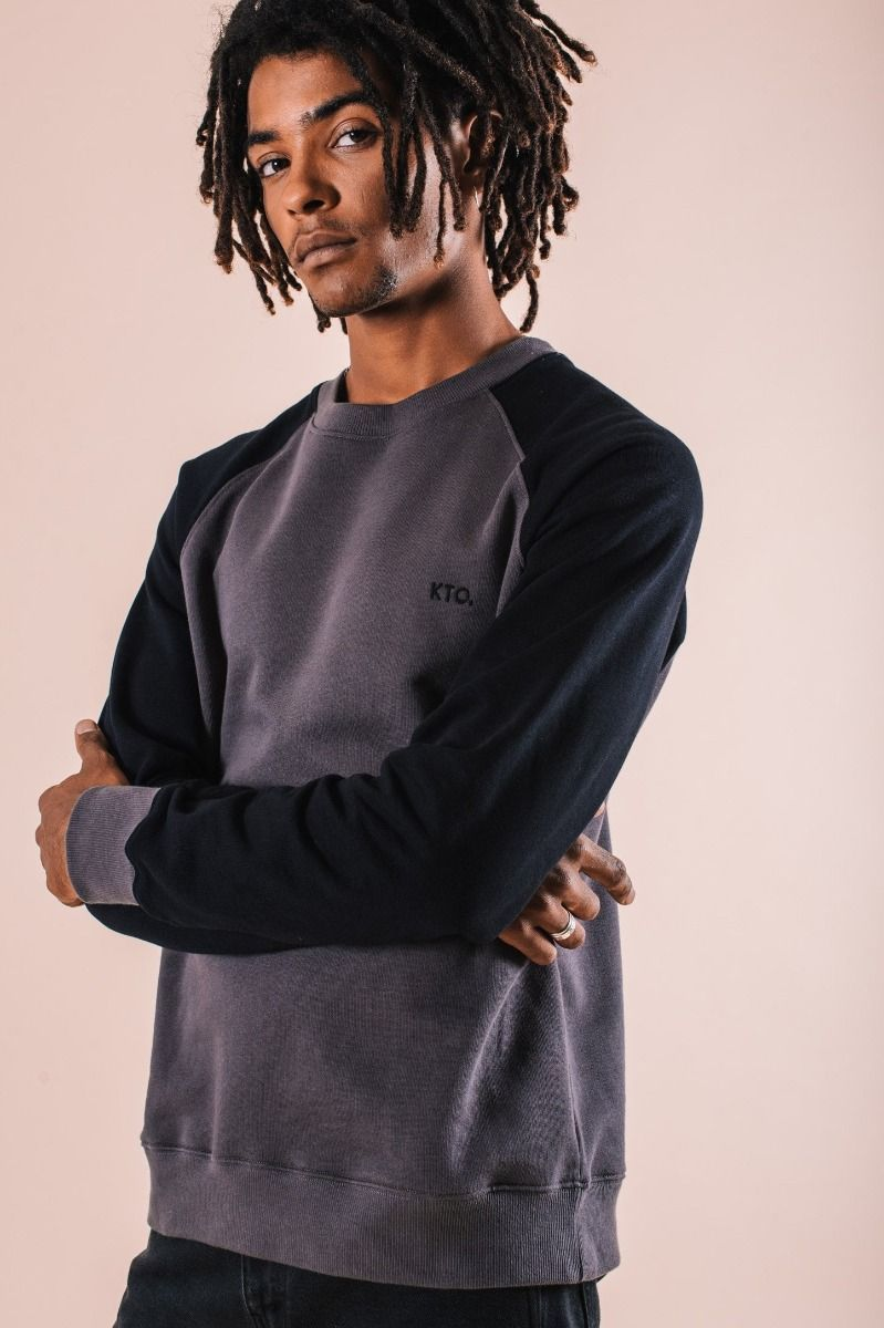 Chak Charcoal Sweater-Know The Origin-MAMOQ