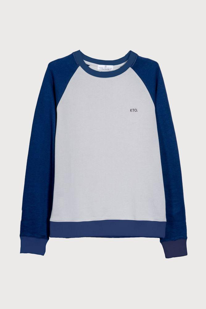 Chak Light Blue Sweater-Know The Origin-MAMOQ