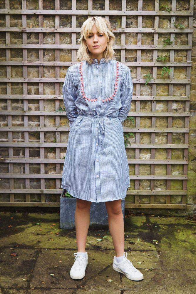 Claire Shirt Dress-Gillian June-MAMOQ