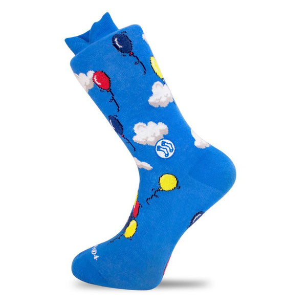 Cloud & Balloon Combed Cotton Socks-Socks-Stand4 Socks-MAMOQ