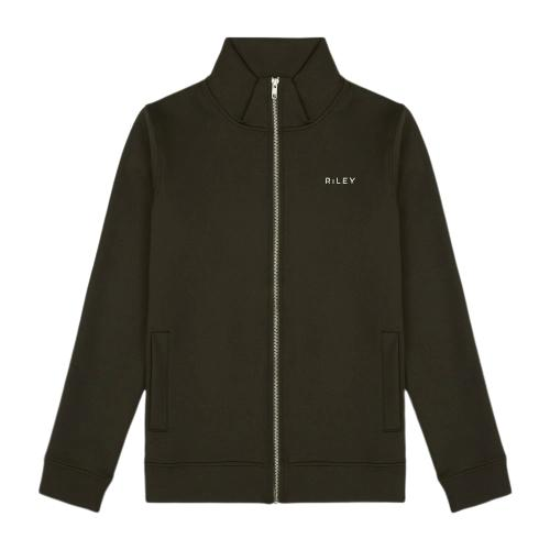 Co-Ord Forest Green Track Jacket-Riley Studio-MAMOQ
