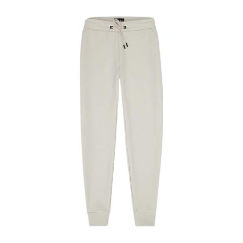 Co-Ord White Tracksuit Bottoms-Riley Studio-MAMOQ