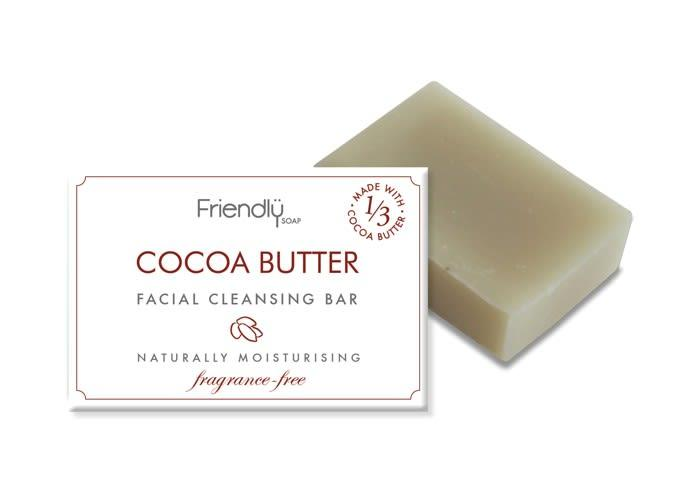 Cocoa Butter Facial Cleansing Bar-Friendly Soap-MAMOQ