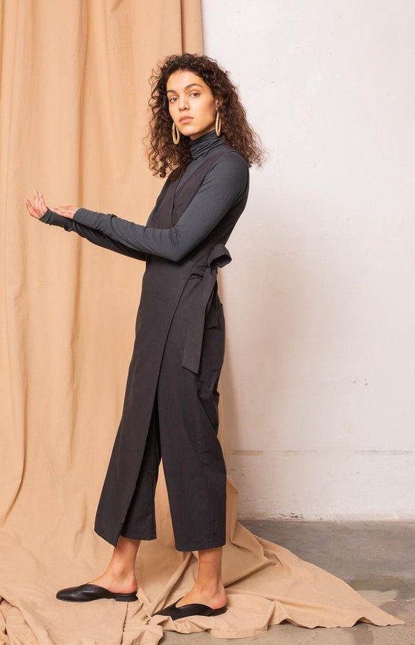 Confidence jumpsuit coal black-TAUKO-MAMOQ