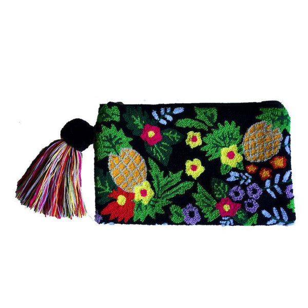 Córdoba Handcrafted Cotton Wayuu Clutch Bag-Untold Treasures-MAMOQ