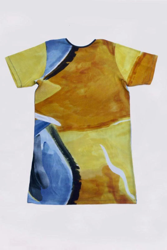 Dali T Dress in Sunset-Cor-MAMOQ