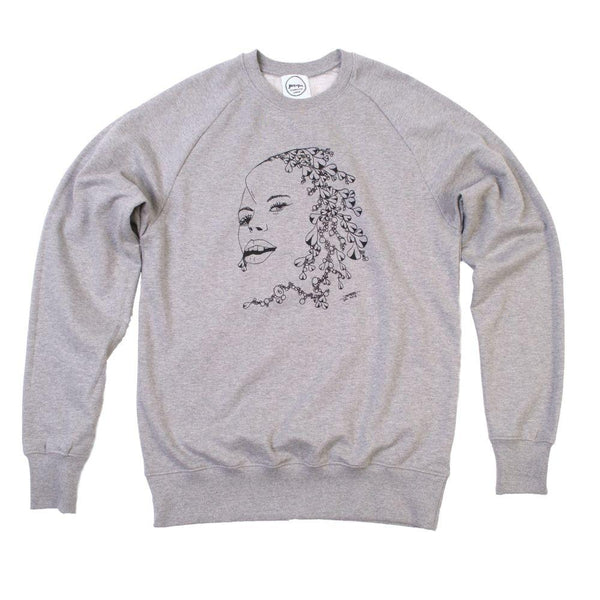 David's 1st Girl Organic Sweatshirt-Hopeful Traders-MAMOQ