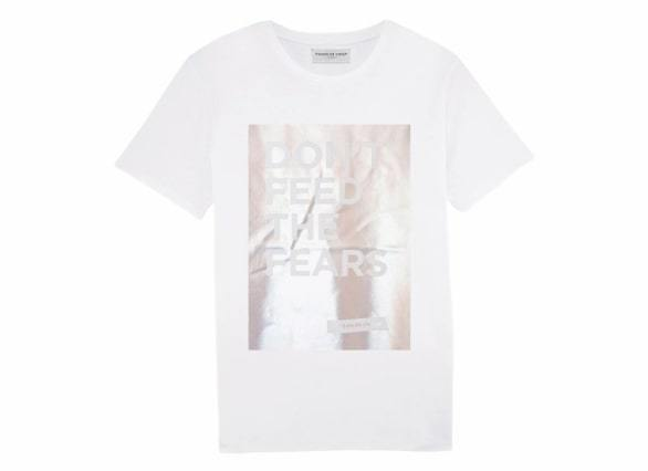 Don't Feed The Fears T-Shirt - Silver-Maison de Choup-MAMOQ