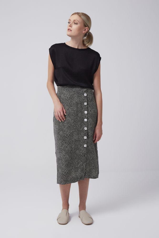Dotty Envelope Skirt-Rakha-MAMOQ