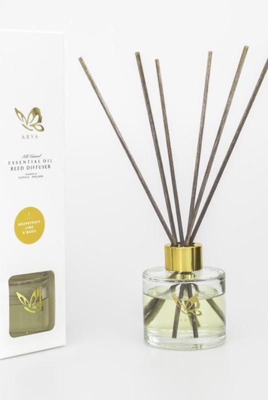 Essential Oil Grapefruit & Lime Diffuser-Arya Candles-MAMOQ