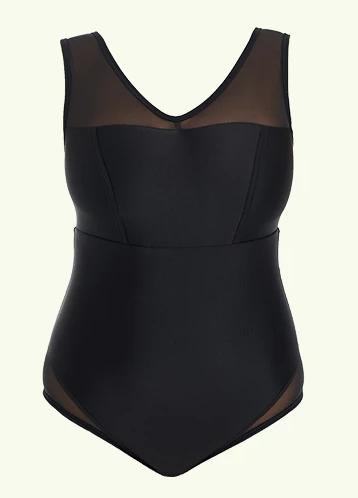 Essential Swimsuit Black - Hendricks-Deakin and Blue-MAMOQ