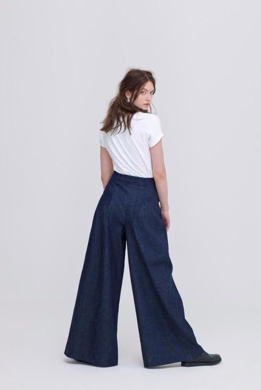 Ethical Organic Cotton Denim Jeans-Zola Amour-MAMOQ